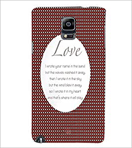 PrintDhaba Quote D-2900 Back Case Cover for SAMSUNG GALAXY NOTE 3 (Multi-Coloured)