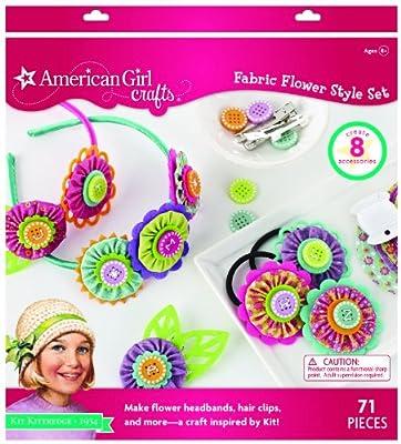 American Girl Crafts Accessories Kit, Kit Kittredge Fabric Flower Style Set