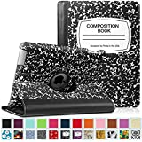 Fintie Apple iPad 2/3/4 Case - 360 Degree Rotating Stand Smart Case Cover for iPad with Retina Display (iPad 4th Generation), the new iPad 3 & iPad 2 (Automatic Wake/Sleep Feature), ZB-Composition Book_B