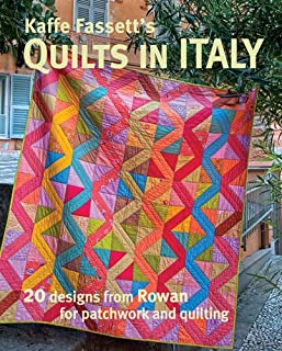 Book Cover: Kaffe Fassett's Quilts in Italy: 20 Designs from Rowan for Patchwork and Quilting