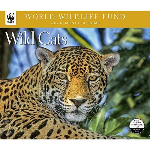 Wild Cats WWF Wall Calendar