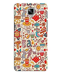 Citydreamz Back Cover For OnePlus Three