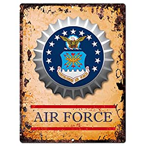 Historical flag air force bottle cap chic for Decor 6 air force