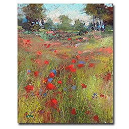 Big Meadow by Karen Margulis Premium Gallery-Wrapped Canvas Giclee Art (Ready-to-Hang)