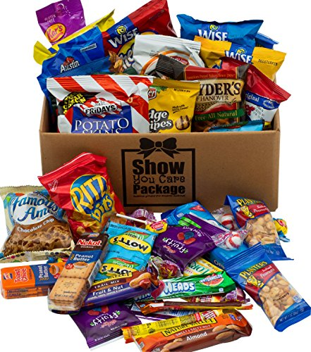 Show You Care Packages (48 Count) Snack Packages With Snacks For College Care Packages And Thank You Care Package