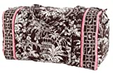 Vera Bradley Large Duffel Bag in Imperial Toile