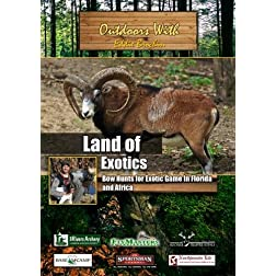 Outdoors with Eddie Brochin Land of Exotics Bow Hunts for Exotic Game In Florida and Africa