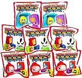 GoGo's Crazy Bones - Series 6 Superstar - (8 Pack Lot)