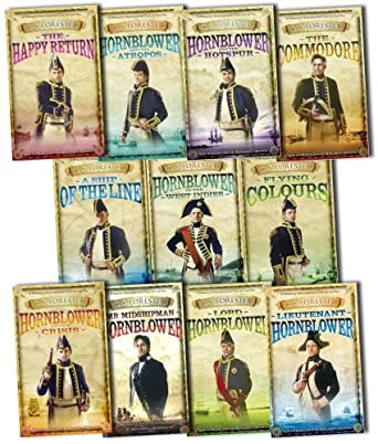 Hornblower Complete Series of 11 books - C S Forester
