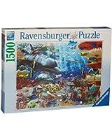 Ravensburger - 16273 - Puzzle - Vie Sous-Marine - 1500 pièces