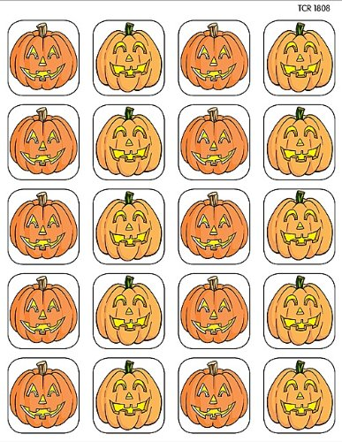 Teacher Created Resources Pumpkins Stickers, Multi Color (1808)