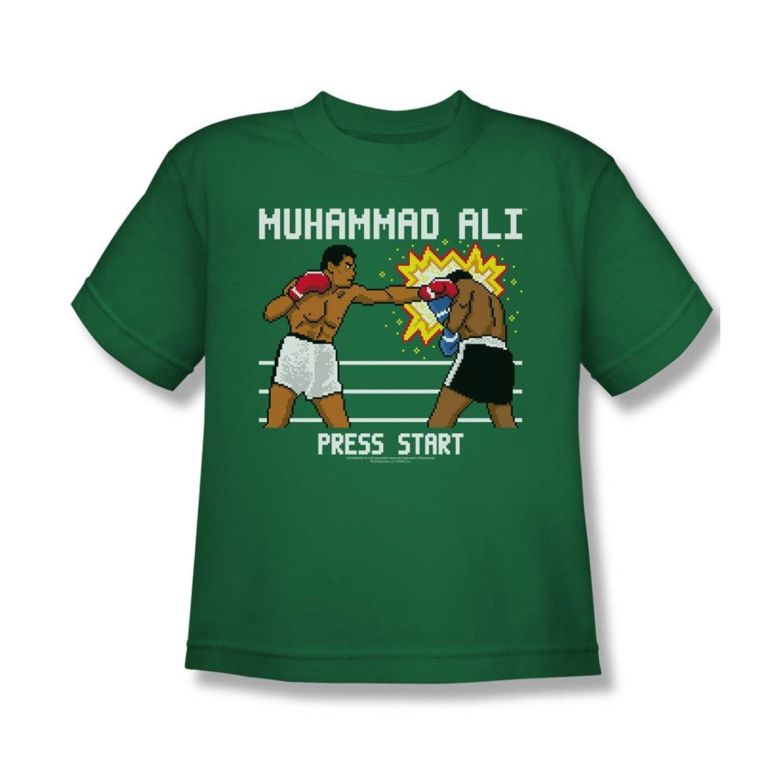 Muhammad Ali 8-Bit Ali Youth T-Shirt Tee muhammad ali t shirt for girl box boxing girls t shirts