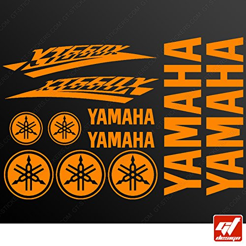 planche xl de 11 stickers yamaha xt 500 planche xl de 11 stickers yamaha xt 660 x orange. Black Bedroom Furniture Sets. Home Design Ideas