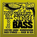 Ernie Ball 2832 Nickel Wound Regular Slinky Bass String Set (50 - 105)