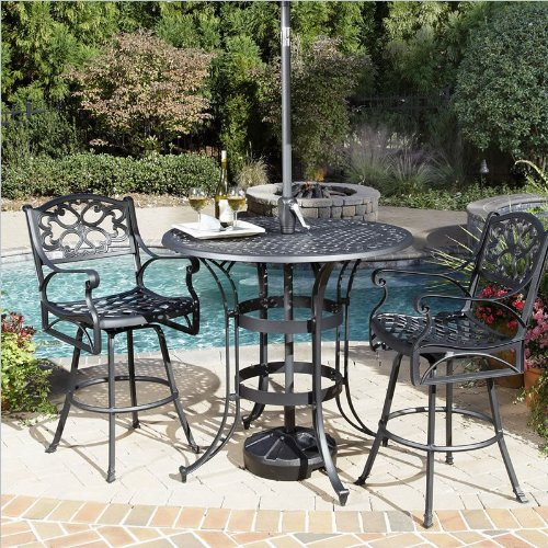 61cfp1SFKnL Better Homes and Gardens Englewood Heights 4 Piece Outdoor Conversation Set