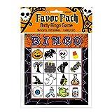 Halloween Bingo Game for 16 players