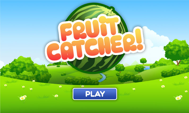 how to make the fruit catcher game