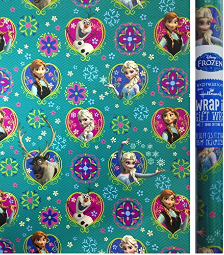 cheap disney christmas wrapping paper