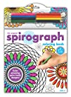 Spirograph Coloring Book   Pencils