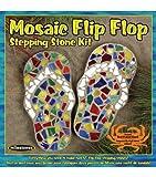 Milestone Mosaic Flip Flop Stepping Stone Kit
