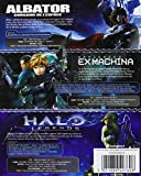 Image de Albator, corsaire de l'espace + Halo Legends + Appleseed Ex Machina [Blu-ray]