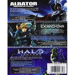 Albator, corsaire de l'espace + Halo Legends + Appleseed Ex Machina [Blu-ray]