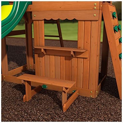 Backyard Discovery Somerset All Cedar Wood Playset Swing ...