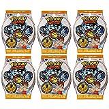 6 Blind Bags: Yo-Kai Watch Series 4 Medals - 18 Random Medals
