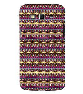 Arrow Pattern 3D Hard Polycarbonate Designer Back Case Cover for Samsung Galaxy Grand 2 G7102 :: Samsung Galaxy Grand 2 G7106