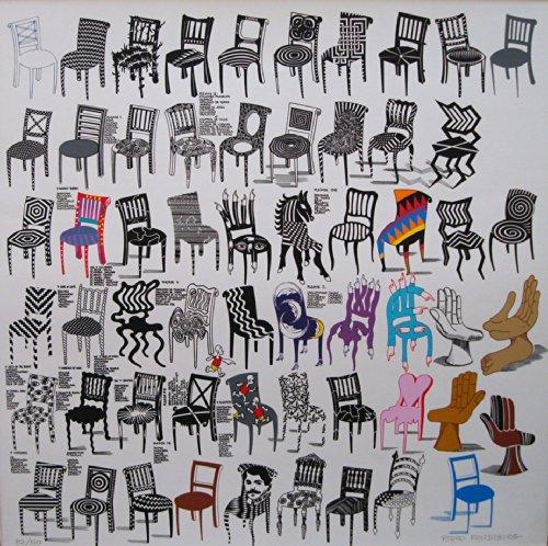 Amazon.com Art: Sillas : Lithography : Pedro Friedeberg