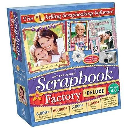 Art Explosion Scrapbook Factory Deluxe 4.0