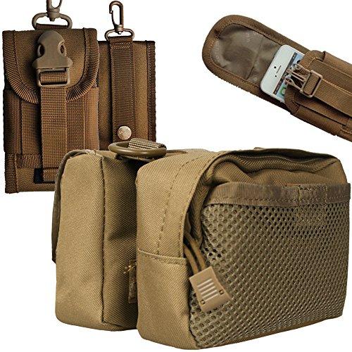xhorizon Hochdicht Wasserfest Militärtuch Fahrrad Radfahren RahmenPannier Seitentasche Front Tube Bag Double Side Bag Tactical Camouflage Style