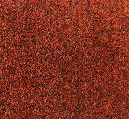 Carpet Plus Heather Red 3' x 4' Entrance Door Mat (3ft X 4ft Red Commercial Door Mat compare prices)