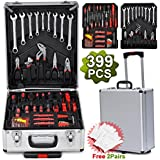 SWT 399pcs Tool Set Mechanics Toolbox Trolley