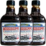 Mississippi Barbecue Sauce 'Sweet'n Mild' 3 x 440ml (Grill-Sauce)