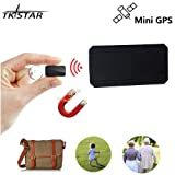 TKstar Strong Magnet Mini GPS Tracker,Portable Anti-thieft Real Time Tracking Device Anti-Lost GPS Locator for Kids /Senior /Person Travel TK901 (Color: 901)
