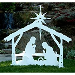 MyNativity Outdoor Christmas Nativity Set, Large
