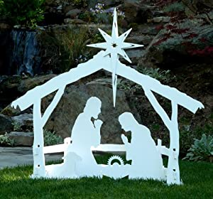Large Outdoor Christmas Nativity Set by MyNativity