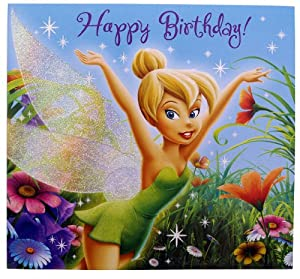 Amazon.com: A Message From Tinker Bell Birthday Greeting Card with
