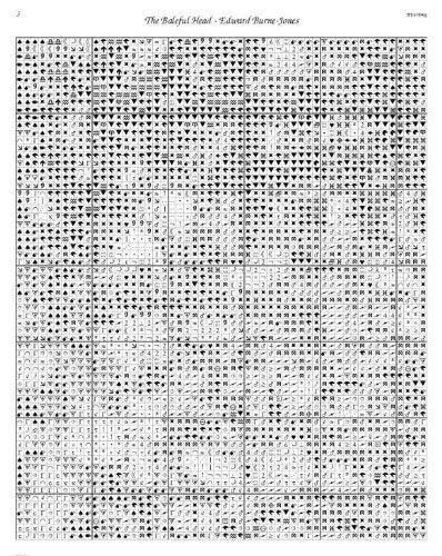 Edward jones stock tables by edward burne jones counted cross