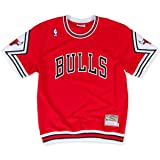 Chicago Bulls Authentic Shooting Shirt - Traditional (XL/48) (Color: Red, Tamaño: XL/48)