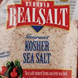 Real Salt Gourmet Kosher Sea Salt - 16 oz - Case of 6 Real Salt Gourmet Kosher S