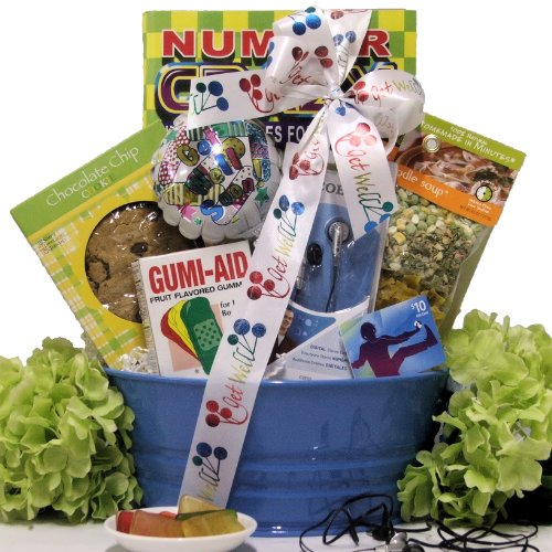 Great Arrivals Boy'S Get Well Gift Basket Ages 9 To 12, Itunes Therapy