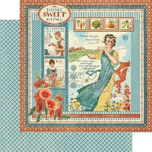 """Home Sweet Home Double-Sided Cardstock 12""""X12""""-Home Sweet Home"""