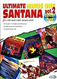 Santana Carlos Ultimate Minus One Volume 2 Guitar Tab Book/Cd