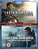 Captain America/Captain America: The Winter Soldier Double Pack [Blu-ray] [Region Free]