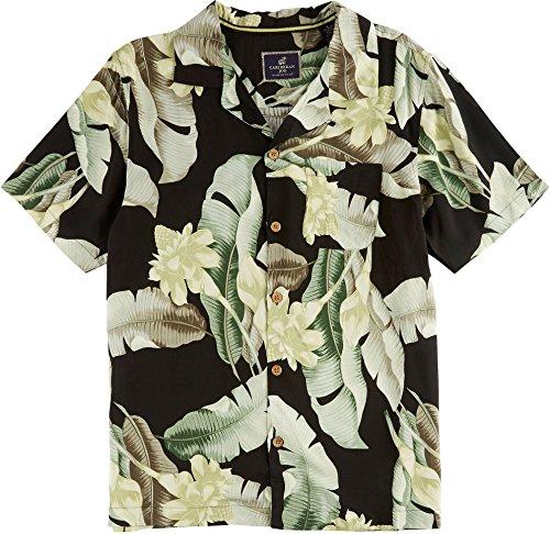 caribbean-joe-mens-black-rainforest-shirt-large-black