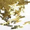 "Gold ""Happy Anniversary"" Confetti"