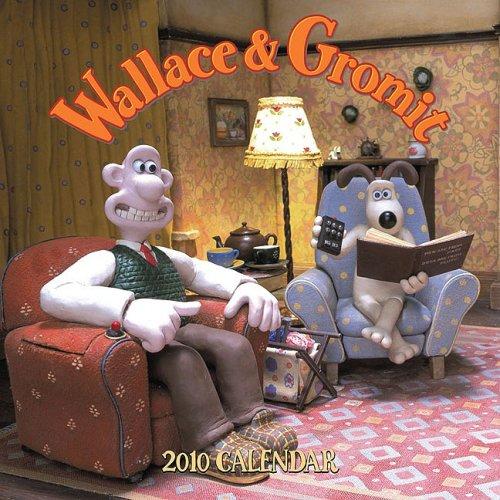 Wallace & Gromit 2010 Wall Calendar