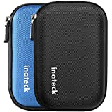 Inateck Shock-proof Protective Carrying Case Bag for 2.5 Inch Portable External Hard Drive Disk HDD (Black)